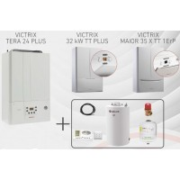 Pachet PROMO VICTRIX 32kW TT PLUS + boiler ATLAS 150L